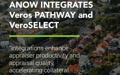 Anow integrates Veros PATHWAY and VeroSELECT, adds VeroSCORE QC to appraisals submitted by mortgage lenders