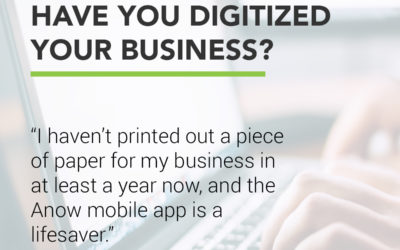 Have you digitized your business?