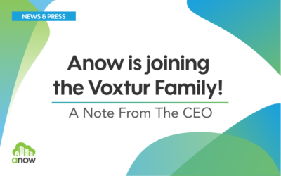 Anow is joining the Voxtur Family!